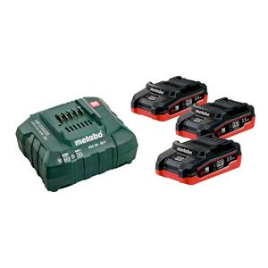 Metabo 18 V Basic Set sa