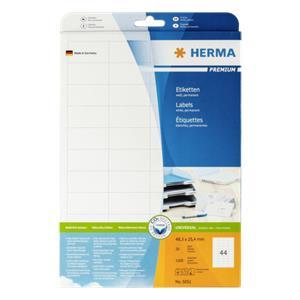 Herma Labels 48,3x25,4 2