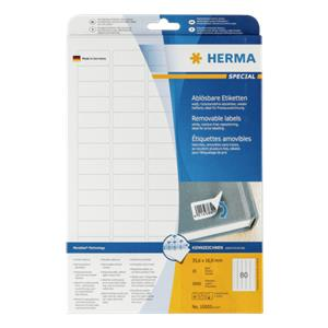 Herma Labels white  35,6