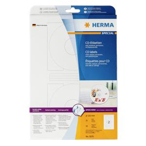 Herma CD-labels white op