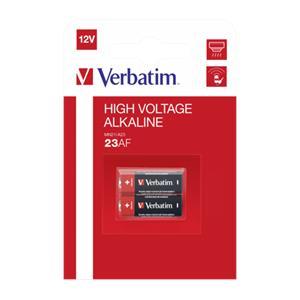 1x2 Verbatim 23 AE 12V Alkaline Battery                   49939