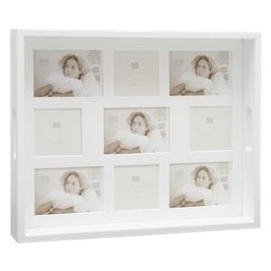 Deknudt Photo Tray        35x43 white Wood 5x9x13 + 4x9x9 S65DC1