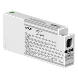 Epson ink cartridge UltraChrome HDX/HD light black 350 ml T 8247