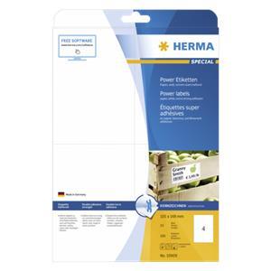 Herma Power Labels matte
