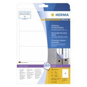 Herma Removable File Spi