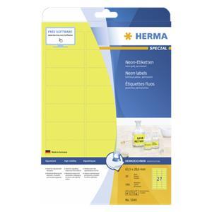 Herma Neon Labels      6