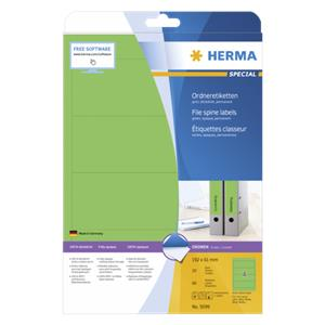 Herma File Spine Labels