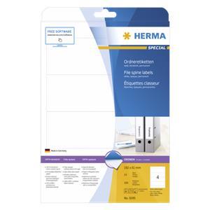 Herma File Spine Labels