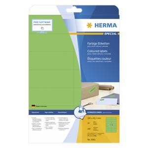 Herma Labels green 105x4