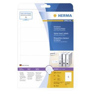 Herma Spine Insert Label