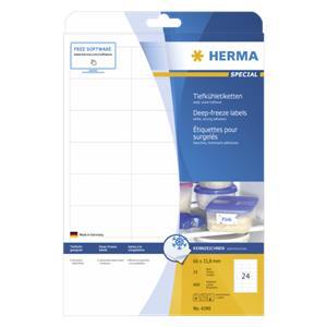 Herma Deep Freeze Labels