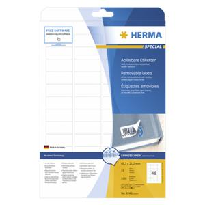 Herma Removable Labels 4