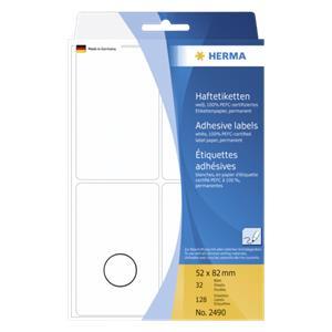 Herma Labels         whi