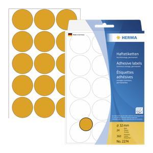 Herma Adhesive Label ora