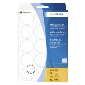 Herma Adhesive Labels wh