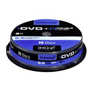 1x10 Intenso DVD+R 8,5GB