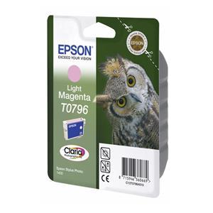 Epson ink cartridge light magenta T 079             T 0796