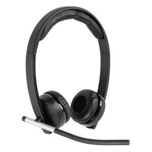 Logitech H820E Wireless Headset Dual