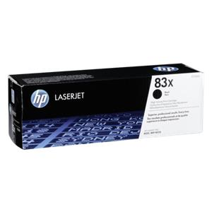 HP Toner CF 283 X black No. 83 X