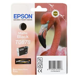 Epson ink cartridge matte black T 087                     T 0878