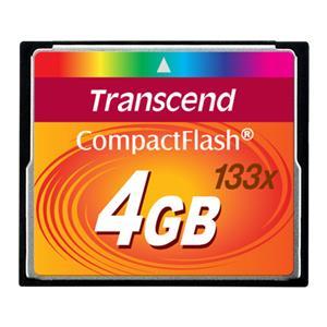 Transcend Compact Flash      4GB 133x