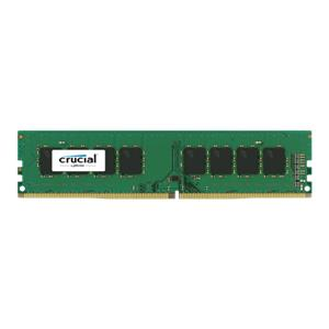 Crucial 4GB DDR4 2400 MT/s DIMM 288pin SR x8 unbuffered