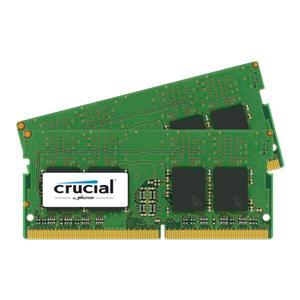 Crucial 16GB Kit DDR4 2400 MT/s 8GBx2 SODIMM 260pin SR x8