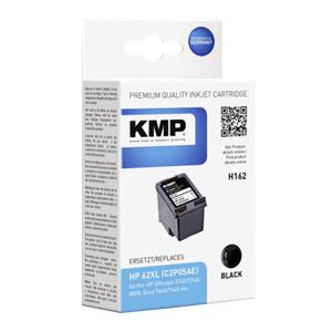 KMP H162 ink cartridge black compatible with HP C2P05AE 62 XL