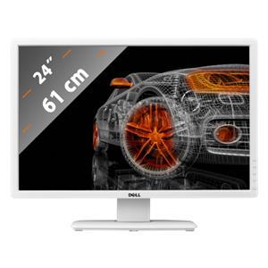 Dell U2412M white
