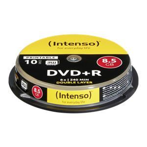 1x10 Intenso DVD+R 8,5GB