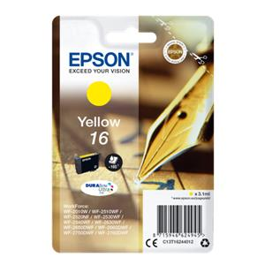 Epson ink cartridge yell
