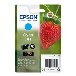 Epson ink cartridge cyan