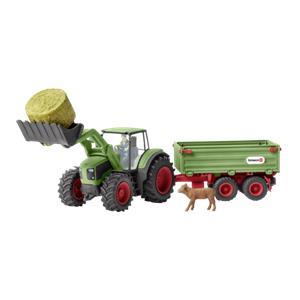 Schleich Farm World        42379 Tractor with Trailer