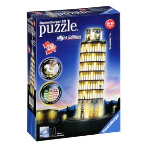 Ravensburger 3D Puzzle Leaning Tower of Pisa by Night