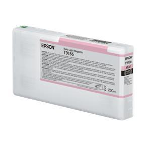 Epson ink cartridge vivid light magenta T 913 200 ml      T 9136