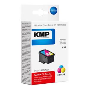 KMP C98 ink cartridge color compatible with Canon CL-546 XL