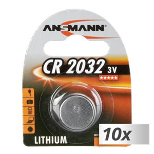 10x1 Ansmann CR 2032