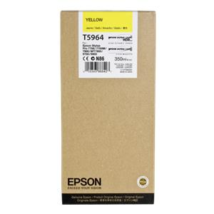 Epson ink cartridge yellow T 596  350 ml             T 5964