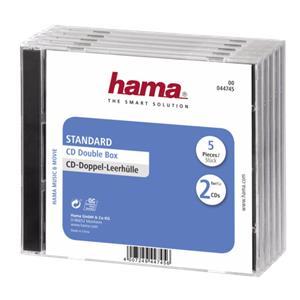 1x5 Hama Standard CD Dou