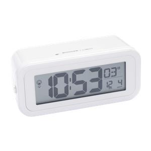 Bresser MyTime Amber RC Alarm Clock white