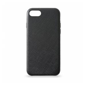 KMP Leather Case iPhone 8 black