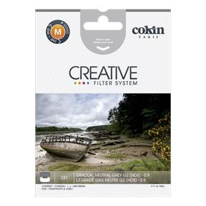 Cokin Filter P121 Gradual grey 2 ND 8