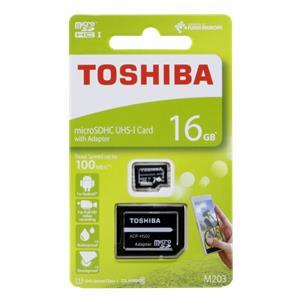 Toshiba microSDHC Class