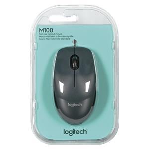 Logitech M100 USB black-