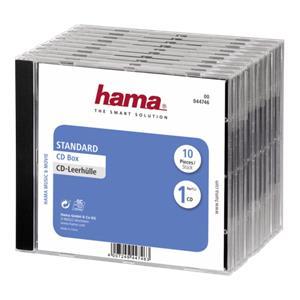 1x10 Hama CD Jewel Case
