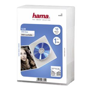 1x10 Hama Slim DVD Jewel