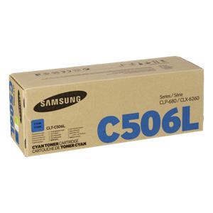 Samsung CLT-C 506 L Toner cyan