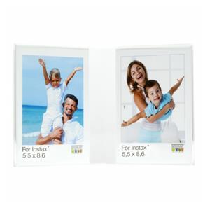 Deknudt S58RL2 H2V     2x5,5x8,6 Resin Frame transparent plexi