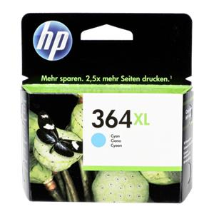 HP CB 323 EE ink cartridge cyan No. 364 XL