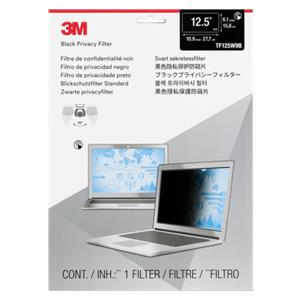 3M TF125W9B Privacy Filt